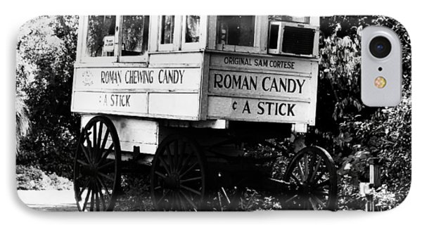 Roman Candy - Bw IPhone Case
