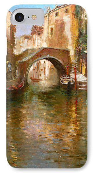 Romance In Venice  IPhone Case by Ylli Haruni