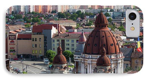 Romania, Transylvania, Targu Mures IPhone Case by Walter Bibikow