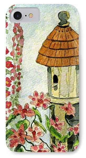 IPhone Case featuring the painting Room With A View by Angela Davies