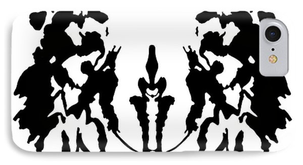 Rorschach Inkblot IPhone Case by Granger