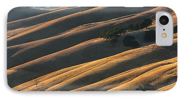Round Valley Ridges IPhone Case by Marc Crumpler