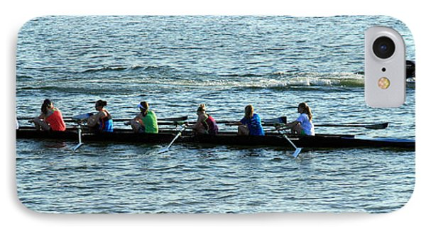 Rowing The Potomac River IPhone Case