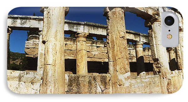 Ruins Of The Roman Town Of Hierapolis IPhone Case