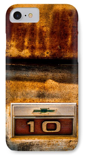 Rusted C10 IPhone Case by Ron Pate
