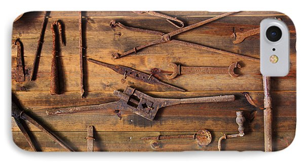Rusty Tools Phone Case by Carlos Caetano