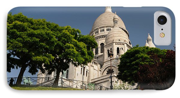 Sacre Coeur IPhone Case by Jeremy Voisey