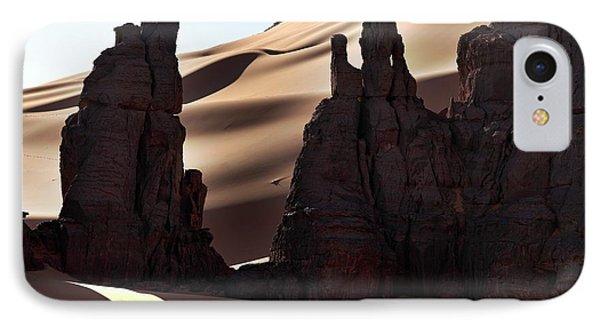 Saharan Rock Formations IPhone Case