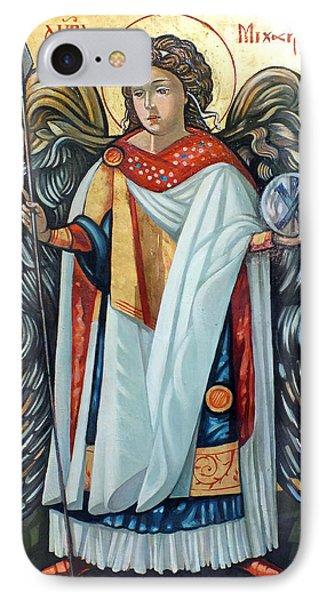 Saint Michael IPhone Case by Filip Mihail
