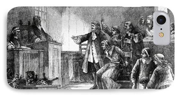 Salem Witch Trials, 1692 IPhone Case by Granger