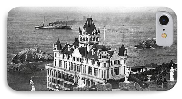 San Francisco Cliff House IPhone Case by Underwood Archives