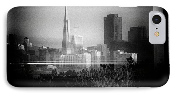 San Francisco Skylines IPhone Case by Celso Diniz