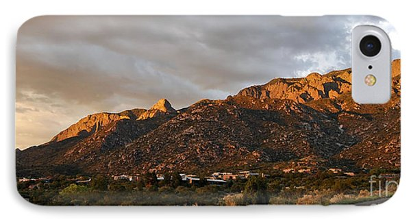 Sandia Mountains IPhone Case by Gina Savage