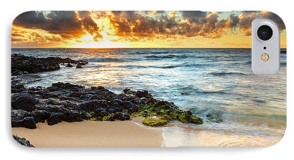 Sandy Beach Sunrise 7 IPhone Case