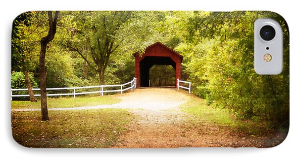 IPhone Case featuring the photograph Sandy Creek Covered Bridge by Julie Clements