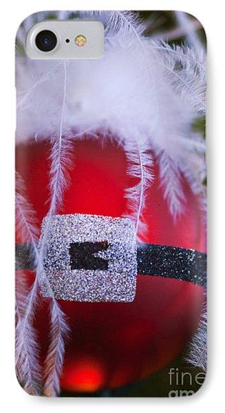 Santa Claus Ornament IPhone Case by Birgit Tyrrell