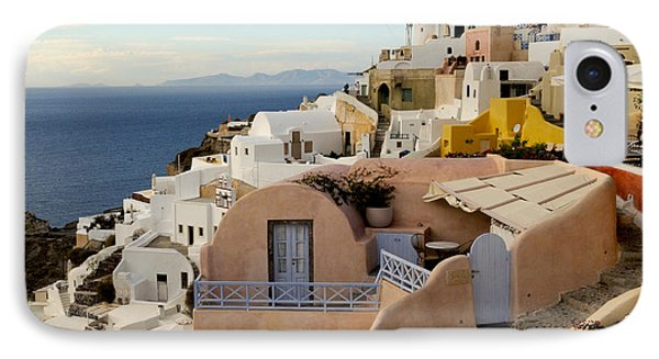 Santorini - Greece IPhone Case by Haleh Mahbod