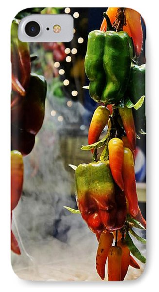 IPhone Case featuring the photograph Sausage And Peppers by Lilliana Mendez