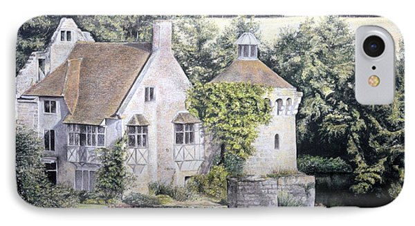 Scotney Castle IPhone Case by Rosemary Colyer