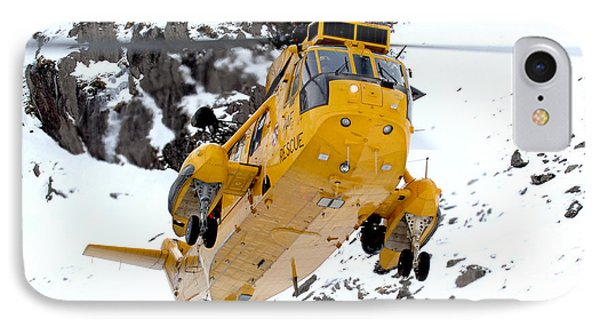 Seaking Helicopter IPhone Case by Paul Fearn