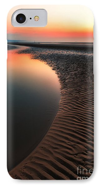 Seascape Sunset IPhone Case by Adrian Evans