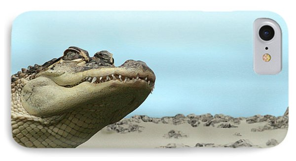 See You Later Alligator IPhone Case by Ellen Henneke