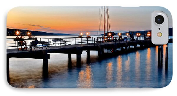 Seneca Lake Sunset IPhone Case by Frozen in Time Fine Art Photography