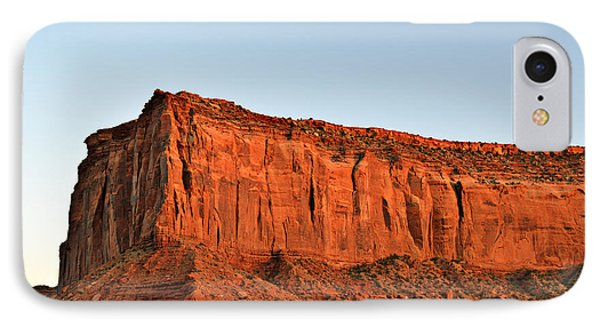 Sentinel Mesa Monument Valley Phone Case by Christine Till