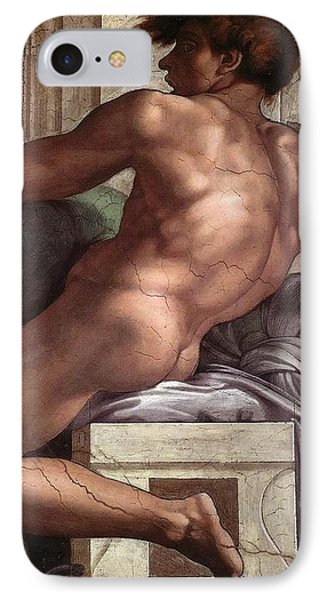 Separation Of Land From Sea - Ignudo Detail IPhone Case