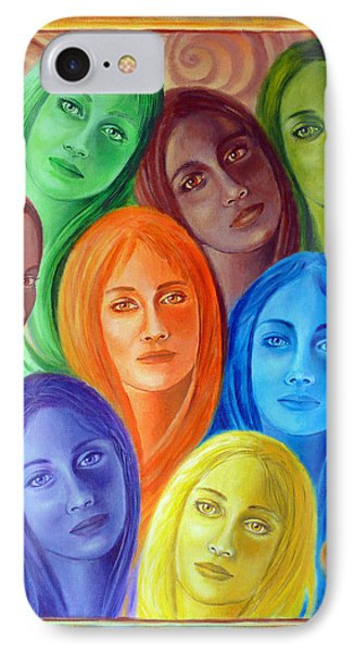 Serene Sisters IPhone Case by Sylvia Kula