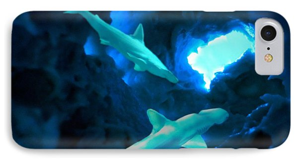 Shark Cave IPhone Case by Steed Edwards