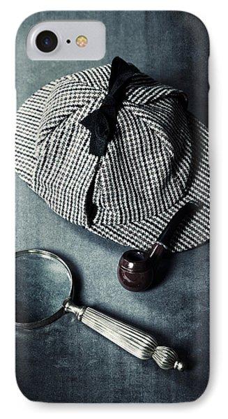 Sherlock Holmes Phone Case by Joana Kruse