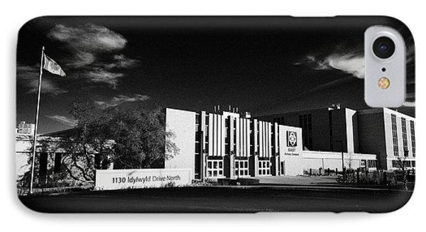 siast Saskatchewan polytechnic kelsey campus saskatoon Canada IPhone Case by Joe Fox