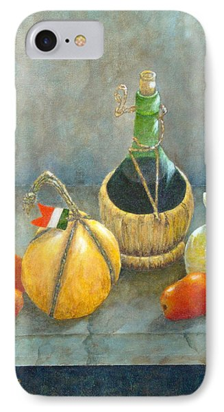 Sicilian Table IPhone Case by Pamela Allegretto