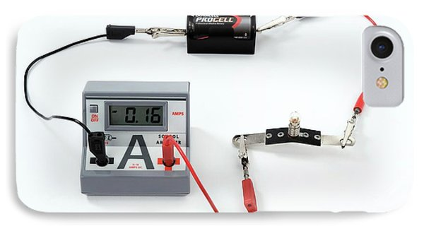 Simple Circuit To Measure Amps IPhone Case