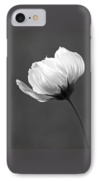 Simply Beautiful In Black And White Phone Case by Penny Meyers