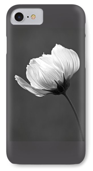 Simply Beautiful In Black And White IPhone Case by Penny Meyers