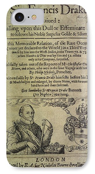 Sir Francis Drake IPhone Case by British Library