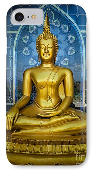 Sitting Buddha IPhone Case by Adrian Evans