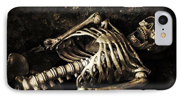 Skeleton  IPhone Case by Amanda Elwell