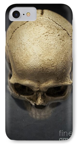 Skull  IPhone Case by Edward Fielding