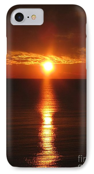 Sky On Fire IPhone Case by Christiane Schulze Art And Photography