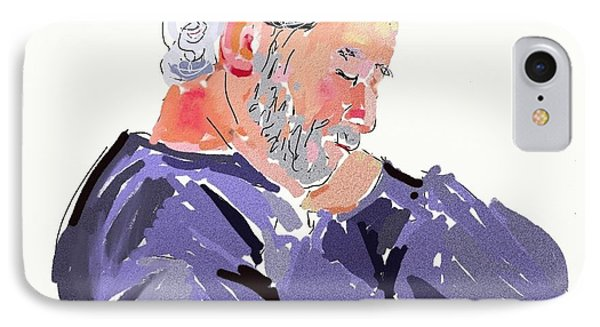 Sleepy Joe IPhone Case by Carol Berning
