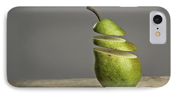 Pear iPhone 7 Case - Sliced by Nailia Schwarz