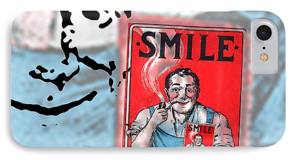 Smile IPhone Case by Edward Fielding