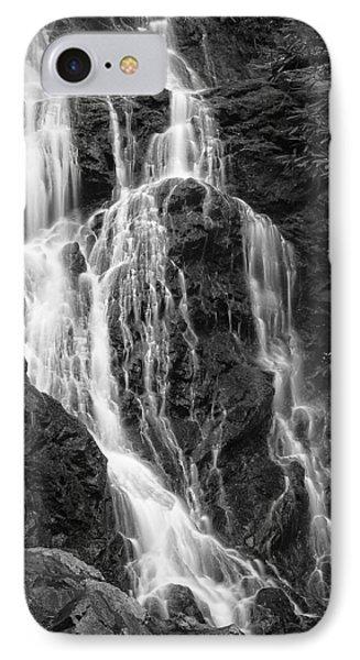 Smokey Waterfall Phone Case by Jon Glaser