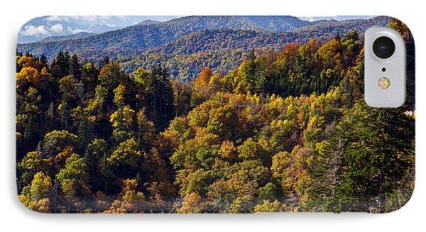Smoky Mountain Color II Phone Case by Douglas Stucky