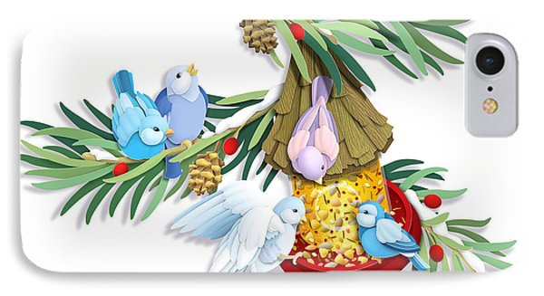 Snacks For All IPhone Case