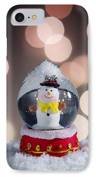 Snow Globe IPhone Case by Carlos Caetano