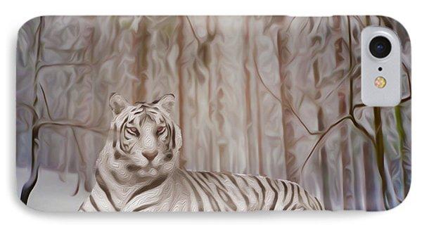 Snow Tiger IPhone Case
